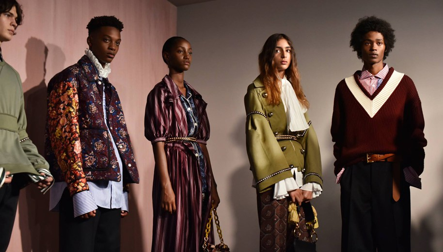 Burberry's see-now, buy-now collection at London Fashion Week