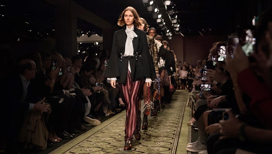 Burberry's see-now, buy-now show at London Fashion Week